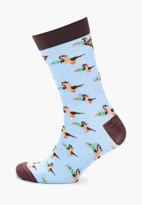 мужские носки запорожец heritage, голубые