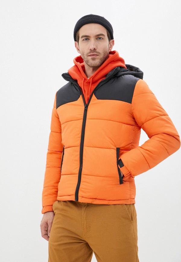 мужская куртка zayne, оранжевая