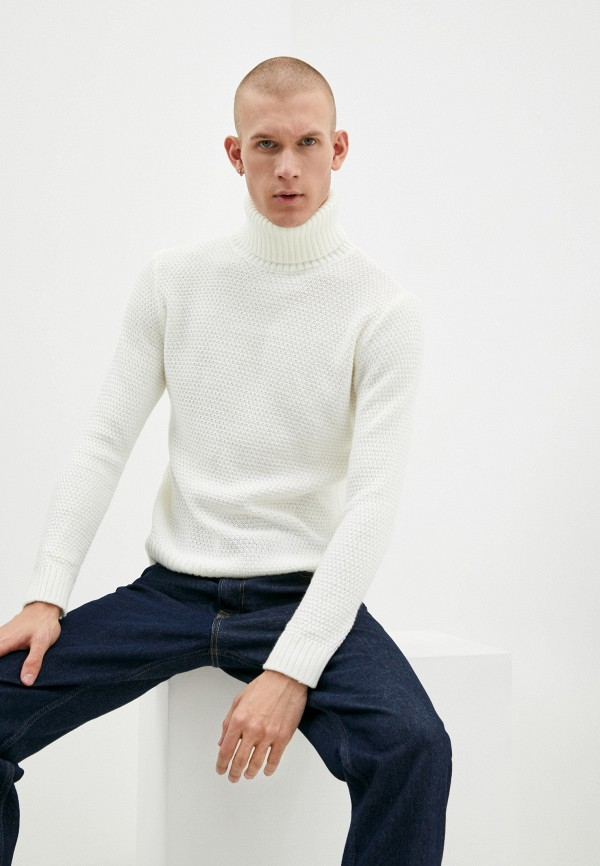 мужской свитер zayne, белый