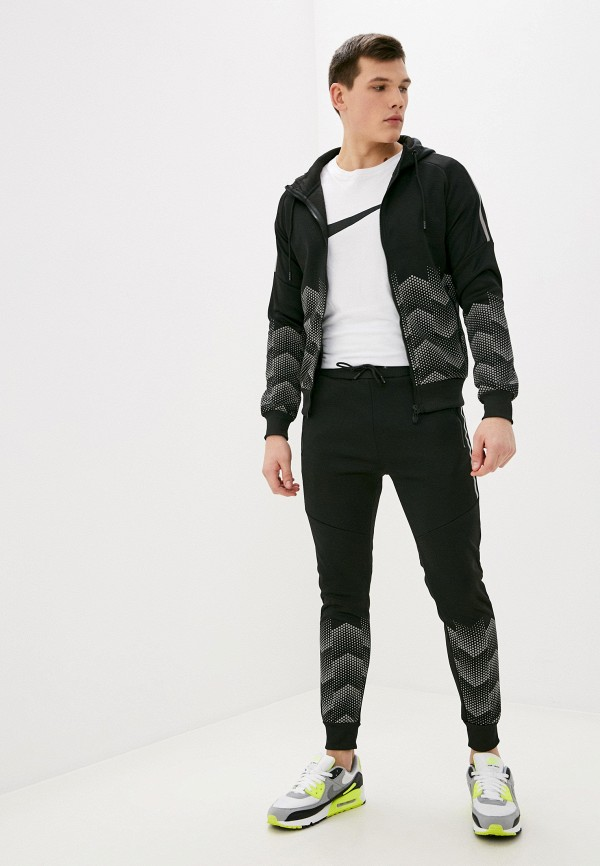 мужской спортивный костюм zayne, черный