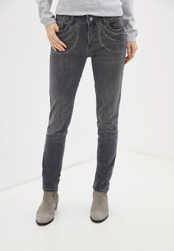 женские джинсы zabaione, серые