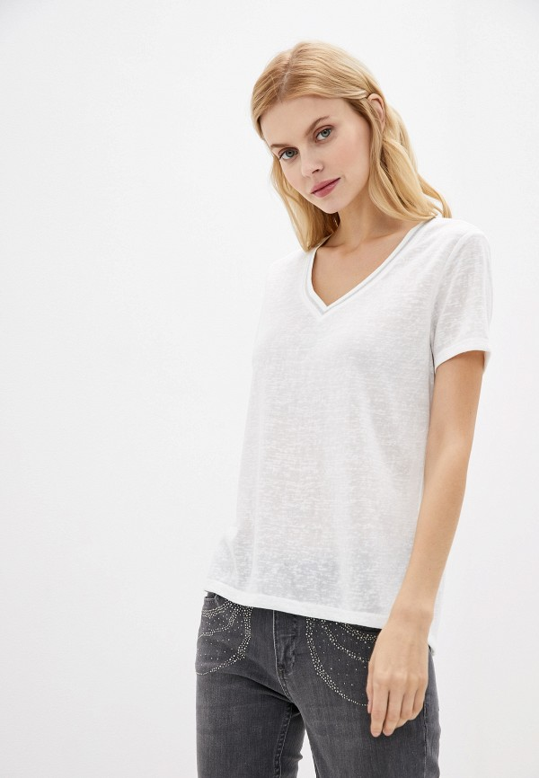 женская футболка zabaione, белая