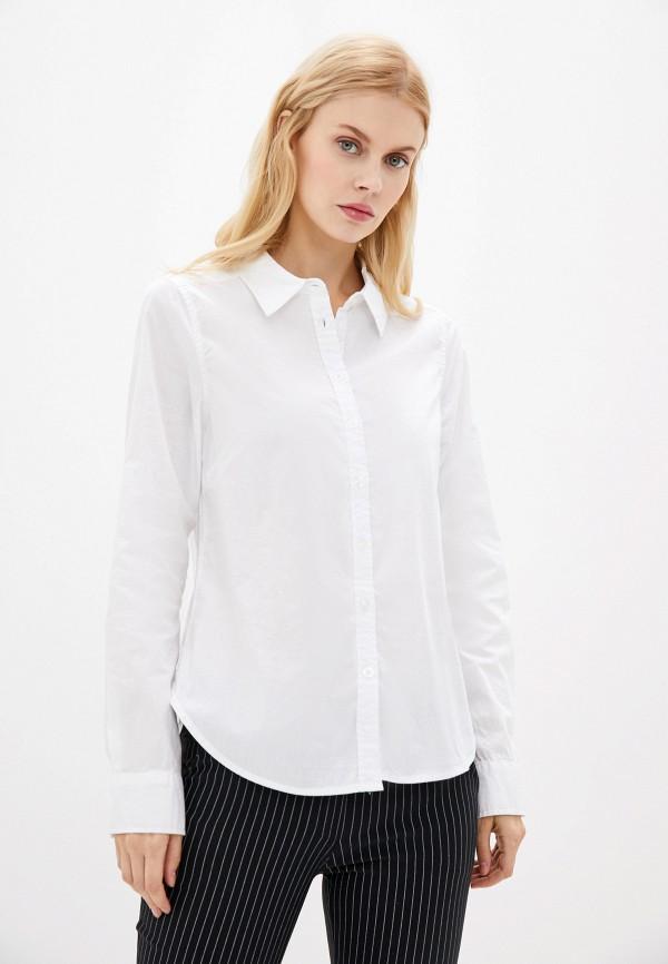 женская рубашка с длинным рукавом zabaione, белая