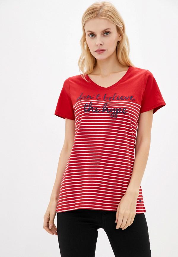 женская футболка zabaione, красная
