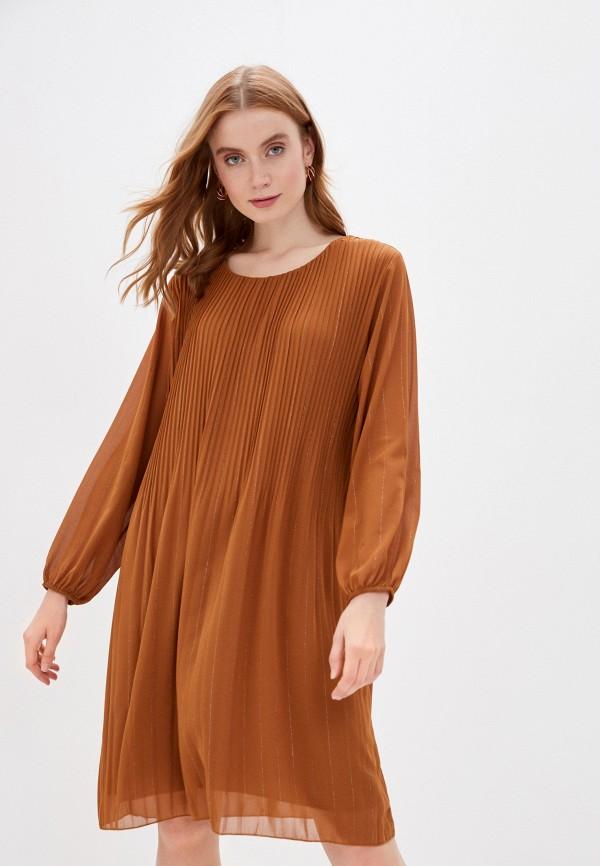 женское повседневные платье zabaione, коричневое