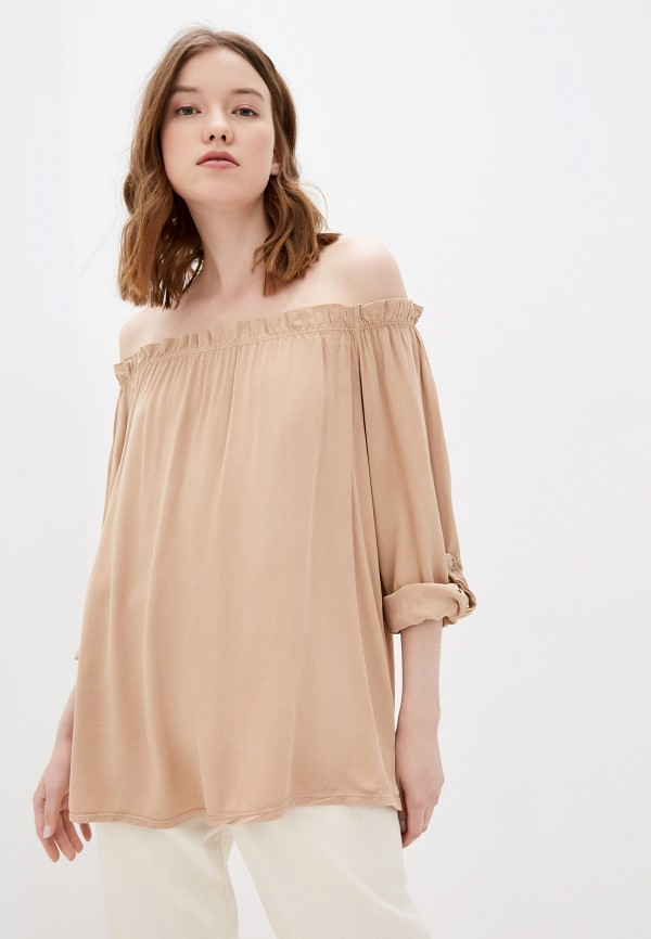 женская блузка zabaione, бежевая