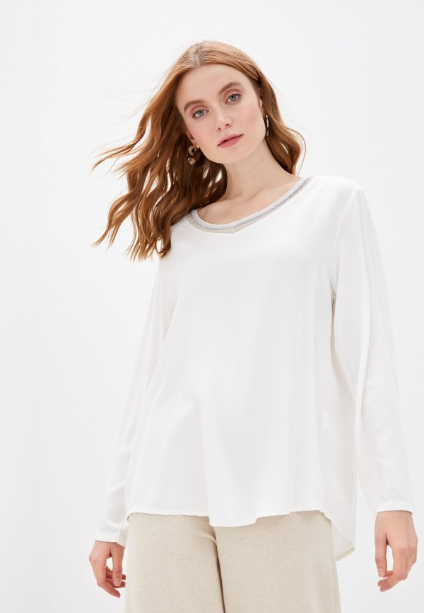 женская блузка zabaione, белая