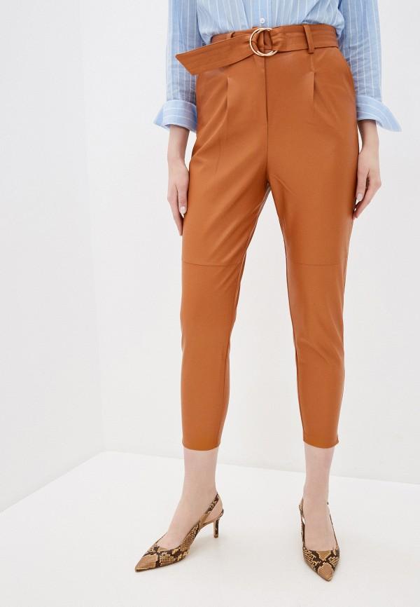 женские повседневные брюки zabaione, коричневые