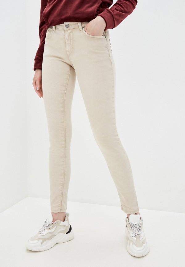 женские повседневные брюки zabaione, бежевые