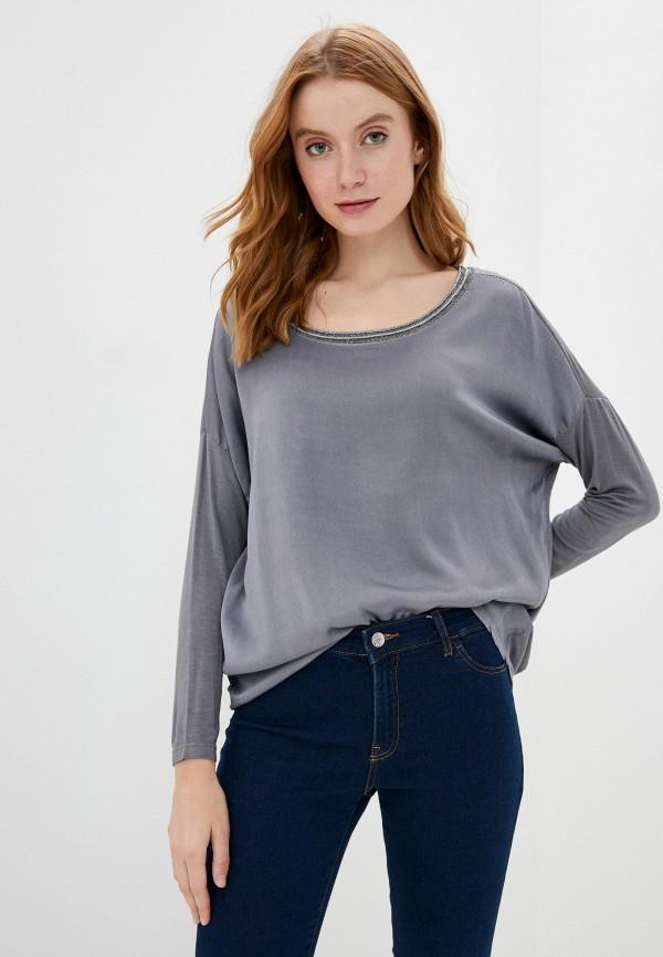 женская блузка zabaione, серая