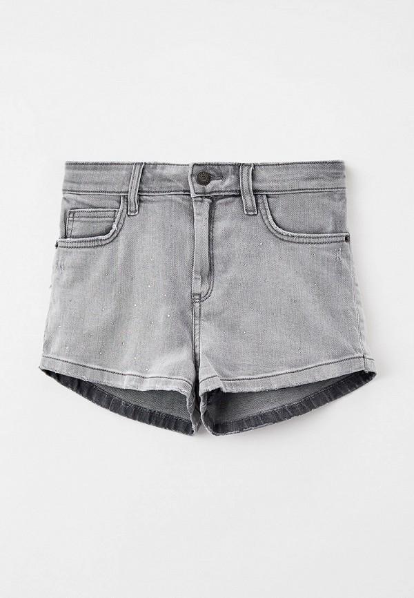 шорты zadig & voltaire для девочки, серые