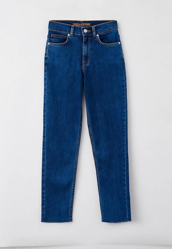 джинсы zadig & voltaire для девочки, синие