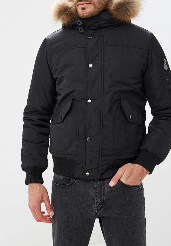 Куртка утепленная Z-Design Z-Design ZD002EMCRHW4 black sexy lace up design plain halter sleeveless crop top