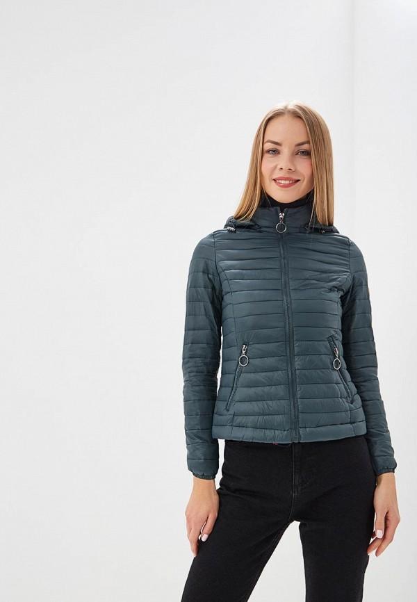 женская куртка z-design, зеленая