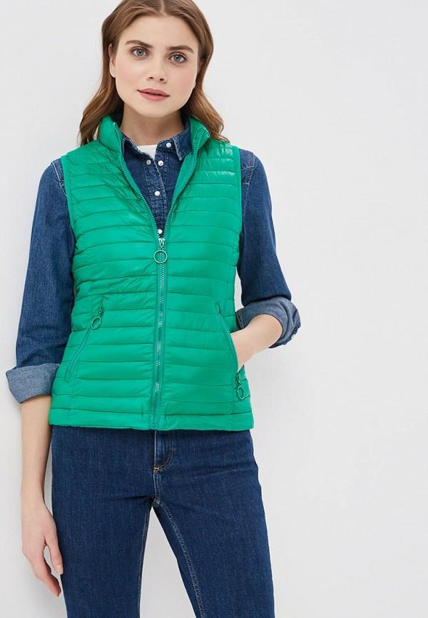 женский жилет z-design, зеленый