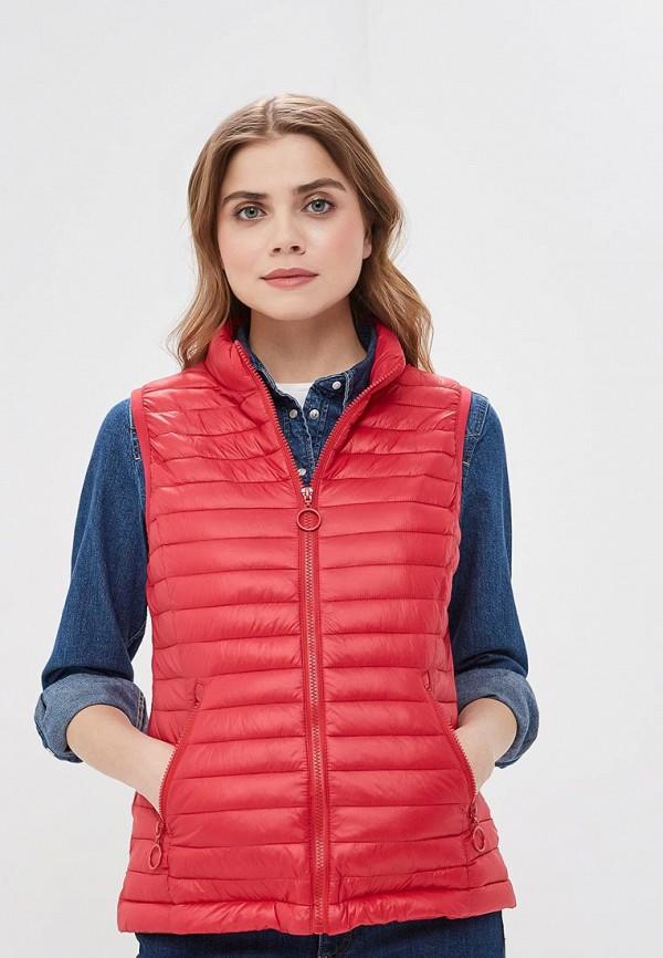 женский жилет z-design, красный