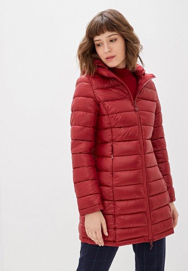 женская куртка z-design, бордовая