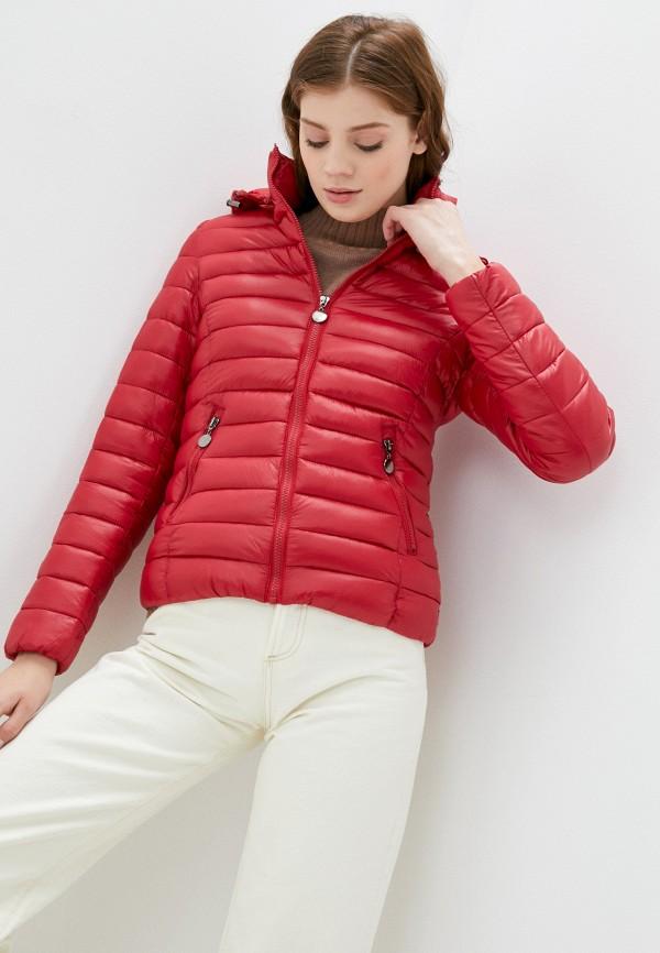 женская куртка z-design, красная
