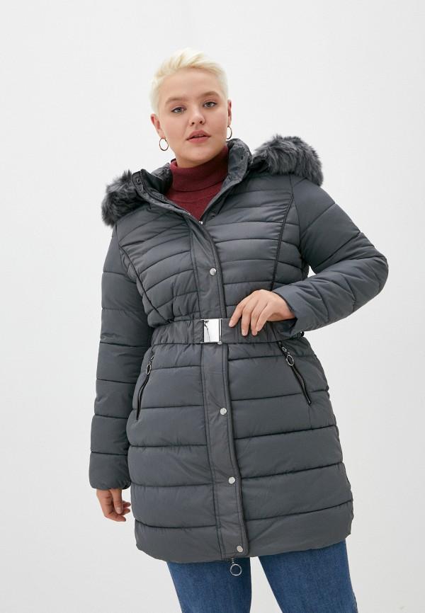 женская куртка z-design, серая