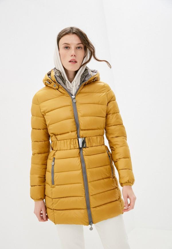 женская куртка z-design, желтая