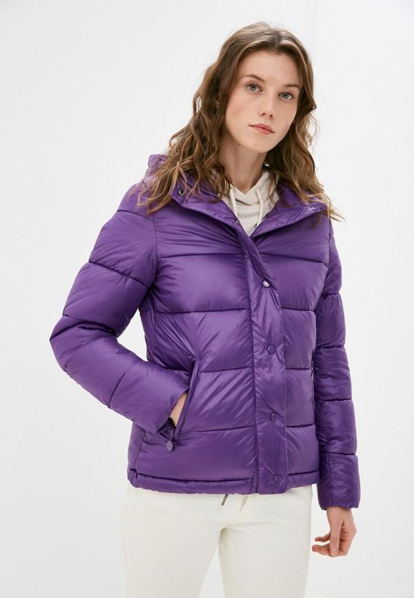 женская куртка z-design, фиолетовая