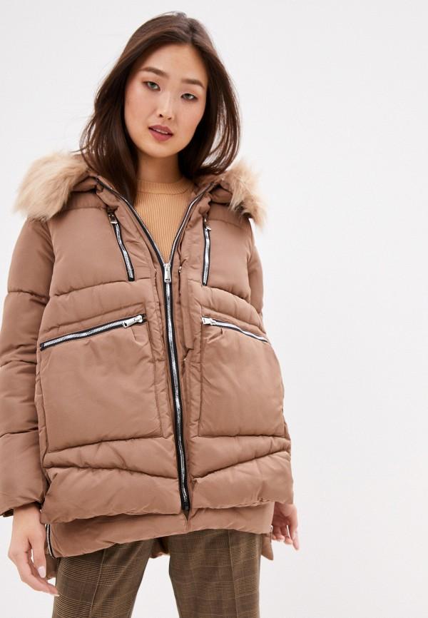 женская куртка z-design, бежевая