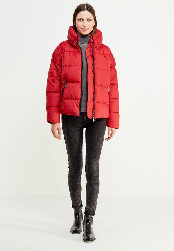 Фото 2 - Куртку утепленная Z-Design красного цвета