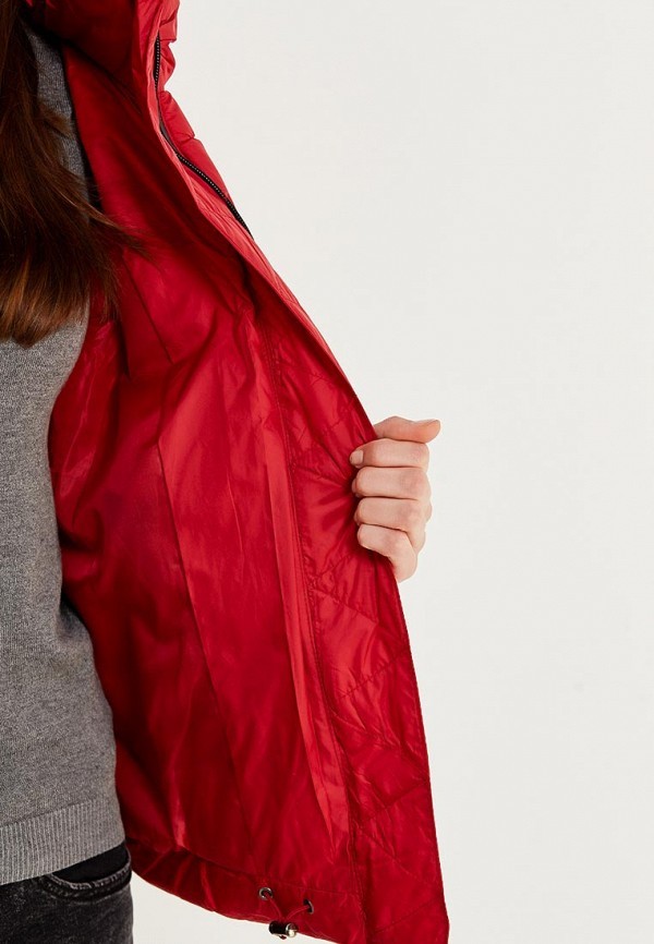 Фото 4 - Куртку утепленная Z-Design красного цвета