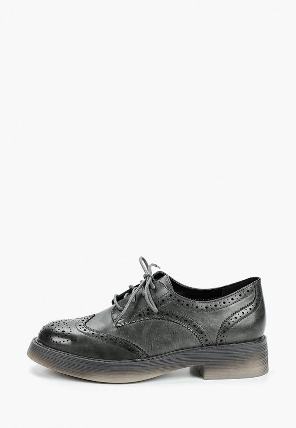 женские ботинки zenden, серые