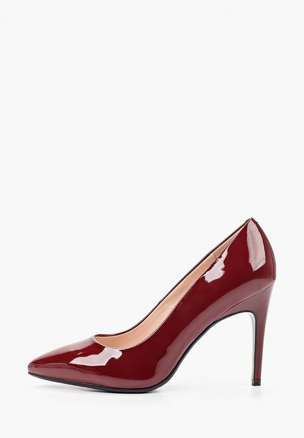 женские туфли zenden, бордовые
