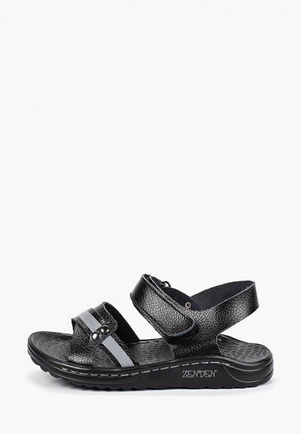 сандалии zenden active для мальчика, черные