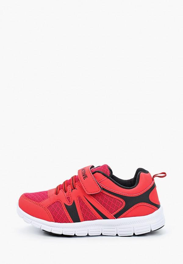 кроссовки zenden active для мальчика, красные