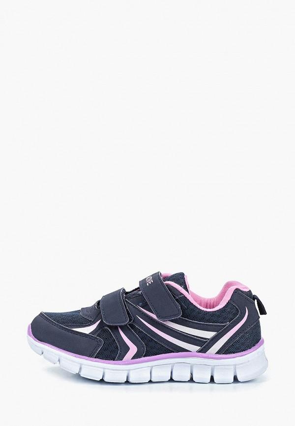 кроссовки zenden active для девочки, синие