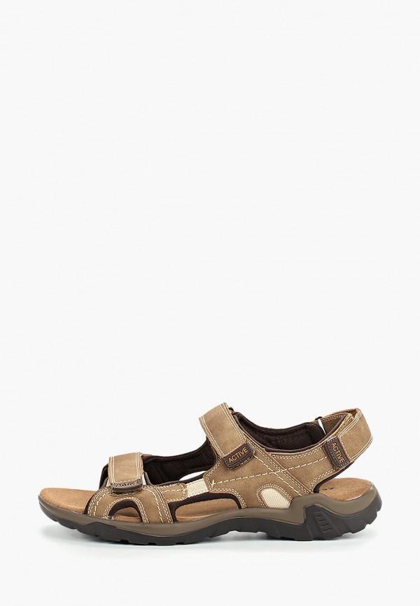 мужские сандалии zenden active, коричневые