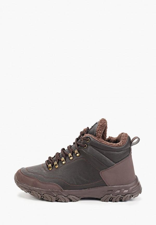 мужские высокие ботинки zenden active, коричневые