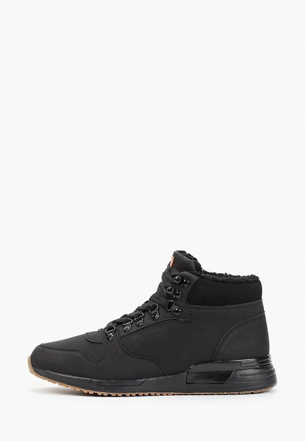 мужские высокие ботинки zenden active, черные