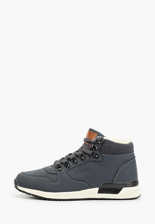 мужские высокие ботинки zenden active, синие