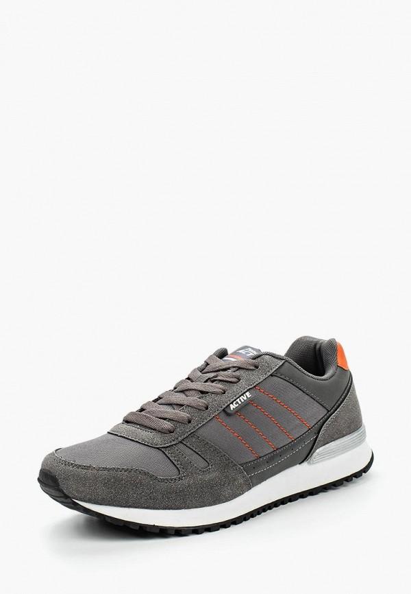 мужские кроссовки zenden active, серые