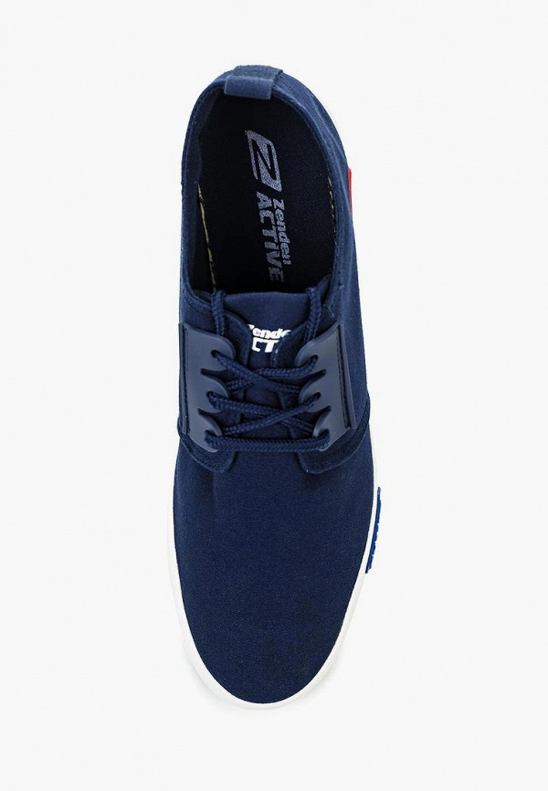 Фото 4 - мужские кеды Zenden Active синего цвета