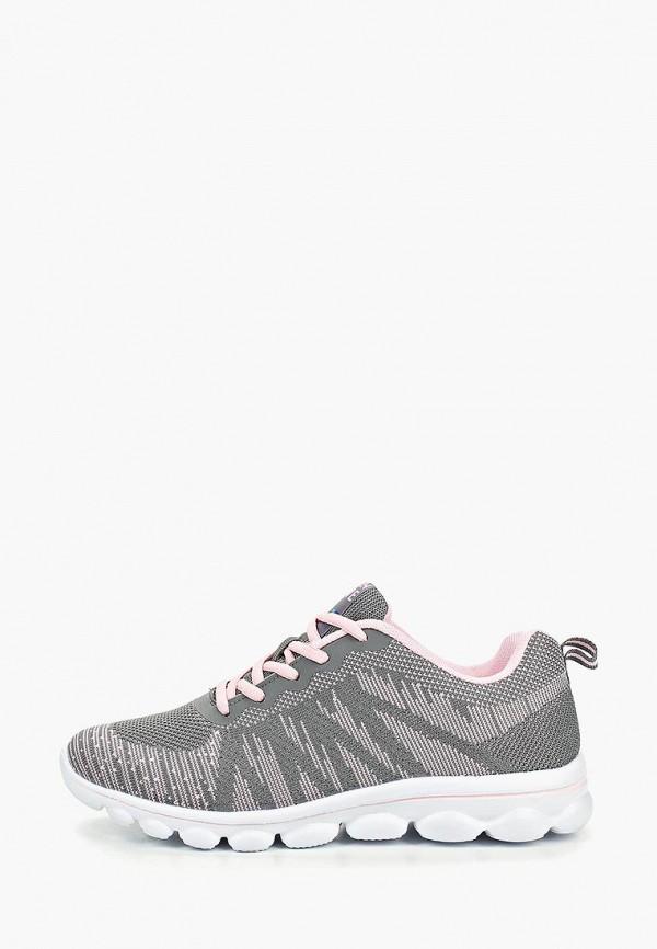 Фото - женские кроссовки Zenden Active серого цвета