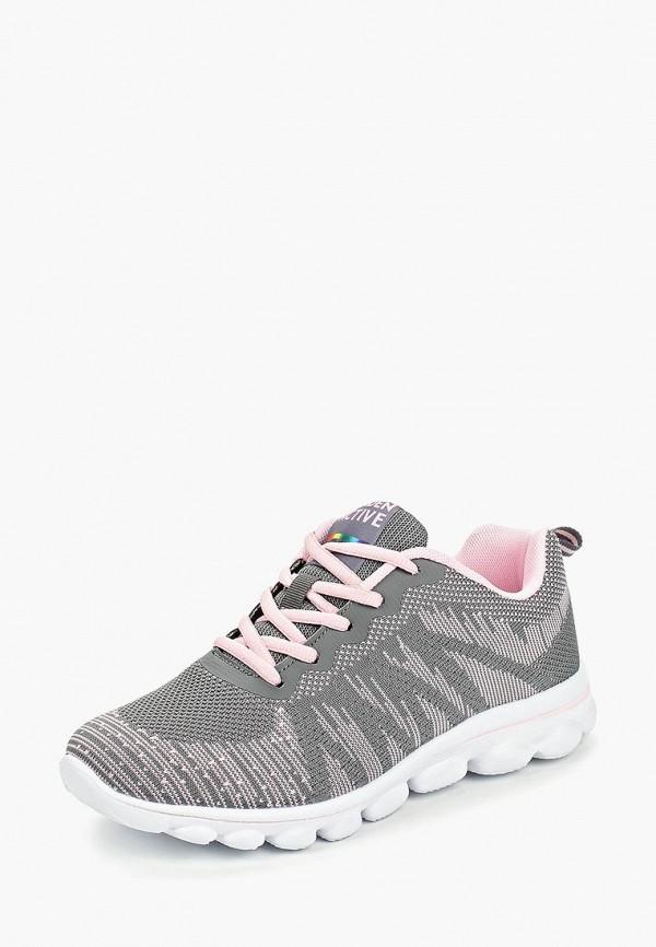 Фото 2 - женские кроссовки Zenden Active серого цвета