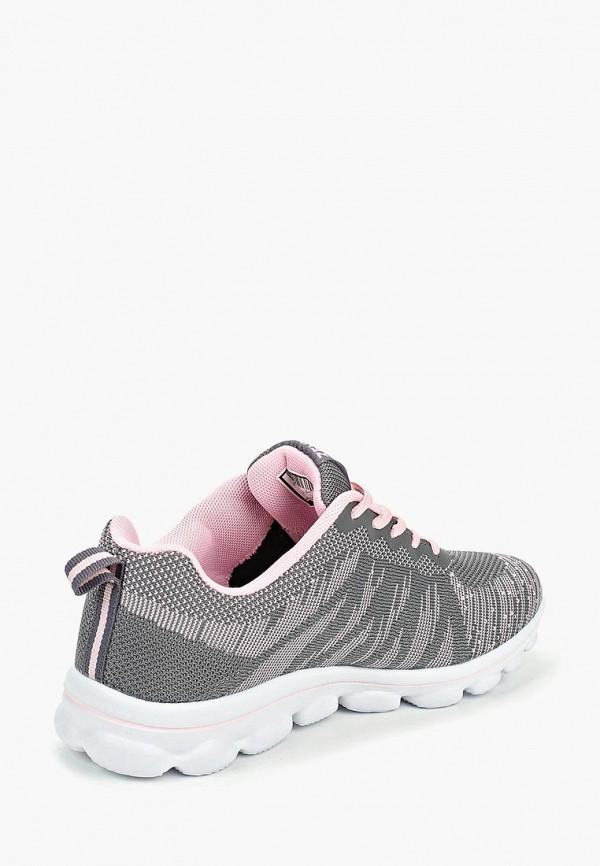Фото 3 - женские кроссовки Zenden Active серого цвета