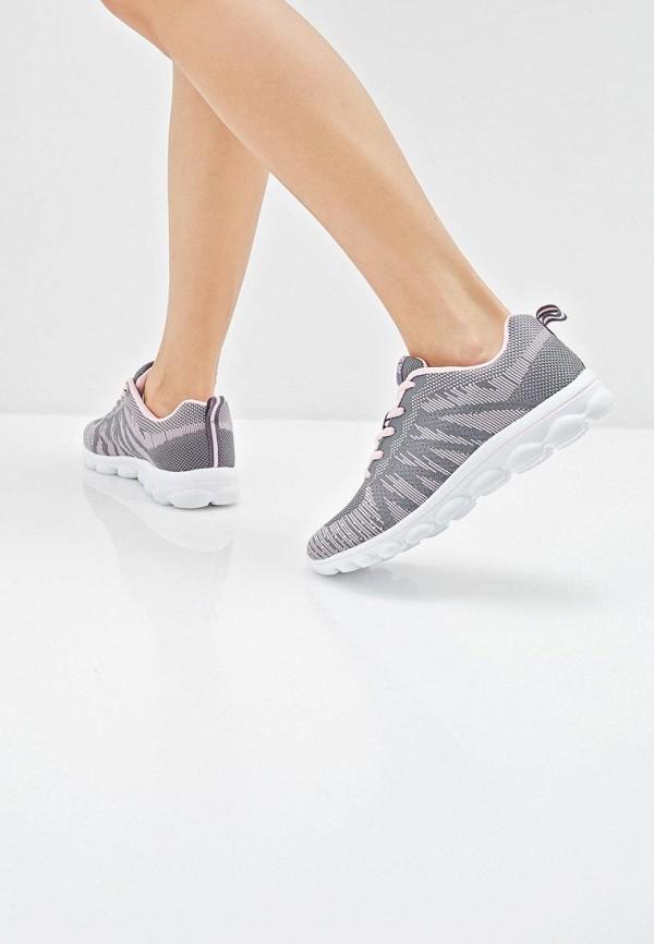 Фото 6 - женские кроссовки Zenden Active серого цвета