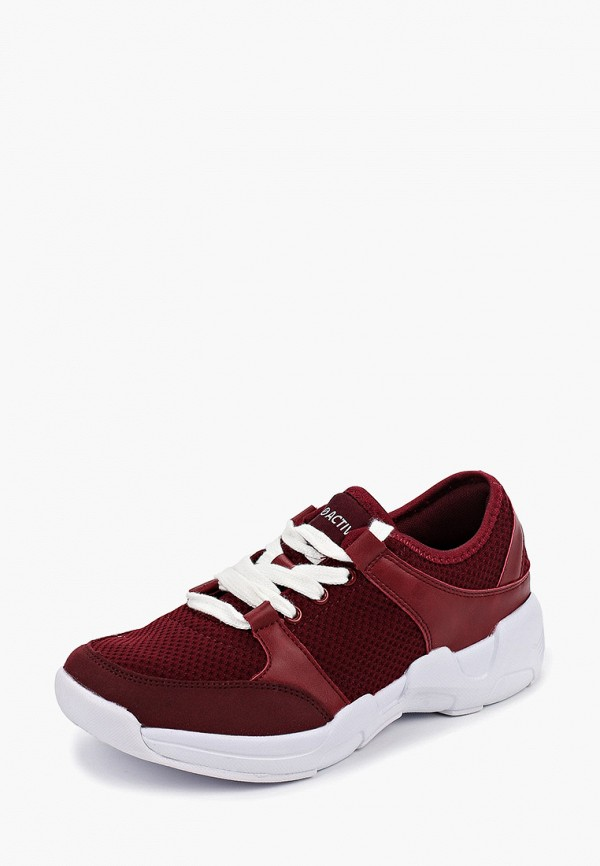 Фото 2 - женские кроссовки Zenden Active бордового цвета