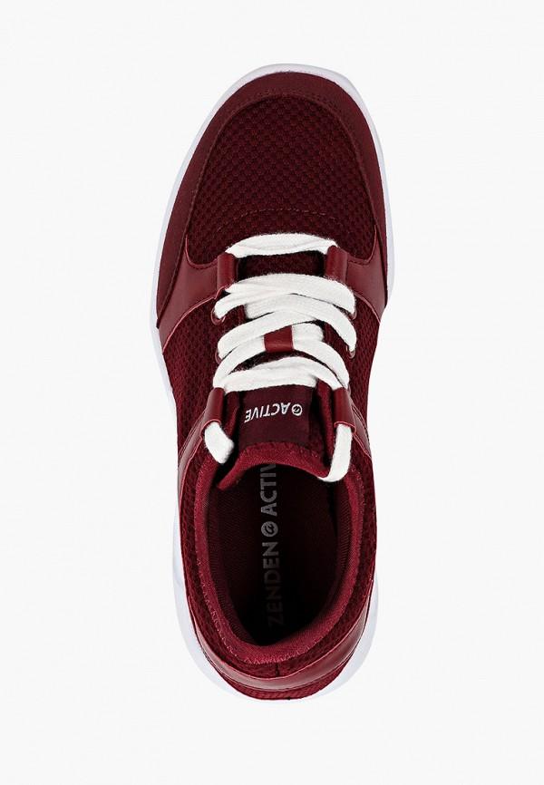 Фото 4 - женские кроссовки Zenden Active бордового цвета