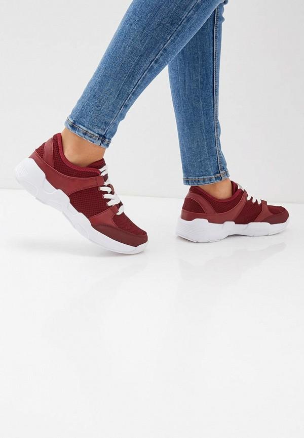 Фото 6 - женские кроссовки Zenden Active бордового цвета
