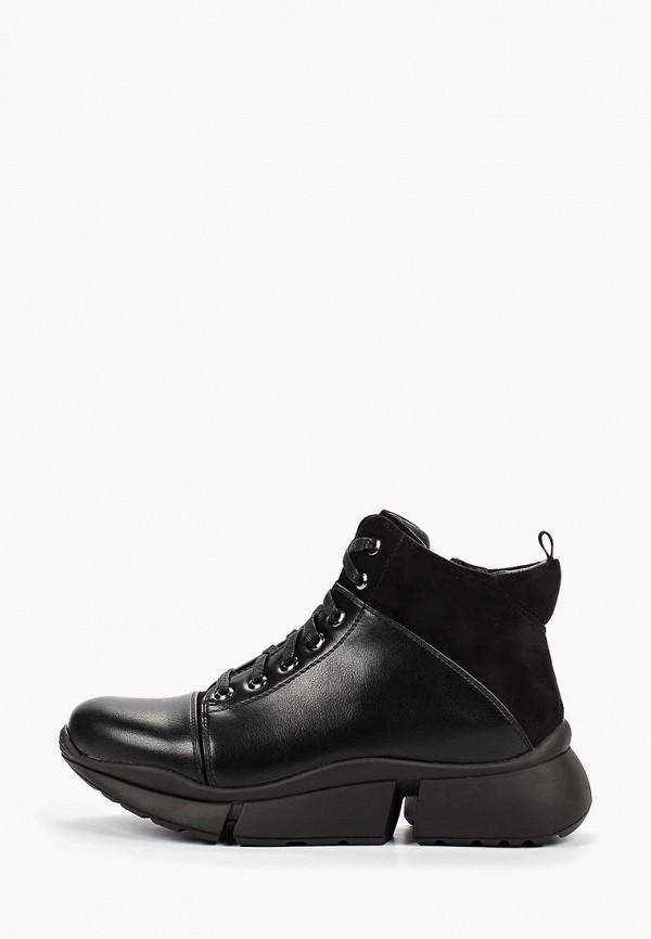 женские ботинки zenden active, черные