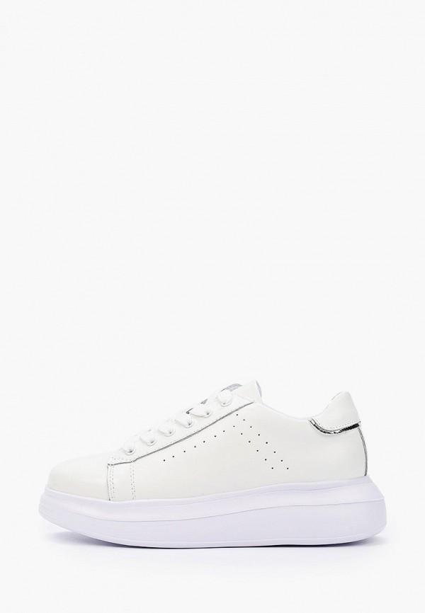 женские кроссовки zenden active, белые