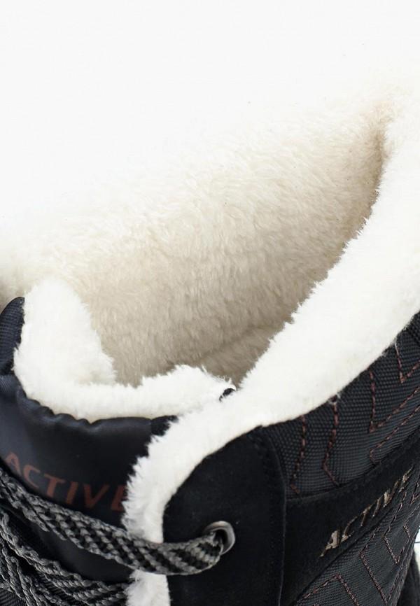 Фото 11 - женские полусапоги Zenden Active черного цвета