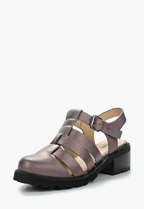 женские туфли zenden woman, серые